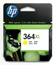 Cartridge HP CB325EE, 364XL, žltá