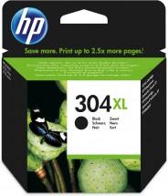 Cartridge HP N9K08AE, 304XL, čierna