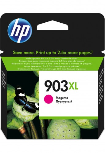 Cartridge HP T6M07AE, 903XL, purpurová