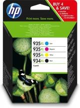 Cartridge HP X4E14AE, 934XL, 935XL, štvorbalenie
