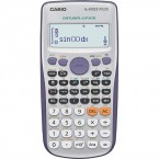 CASIO kalkulačka FX 570ES PLUS, strieborná, školská, dvojriadková