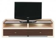 Cava - CV 2, TV stolík (thuje/metalic bronz)