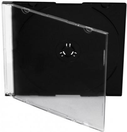 CD Obal na CD Connect IT 1CDSLIM, priehľadný, slim