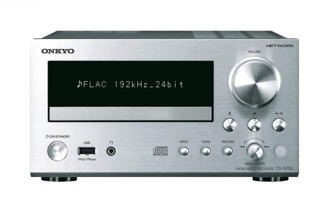 CD,Sieťové přehrávač  Onkyo CR-N755 S