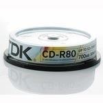 CD  TDK CD-R 700MB 52x, 10ks