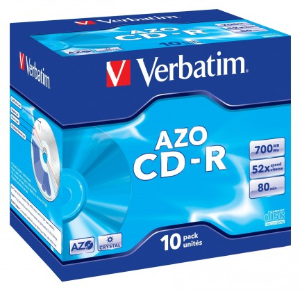 CD  Verbatim CD-R 80 52x CRYST. box 1ks