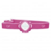 Čelovka GP CH31, LED, 2x CR2025, ružová
