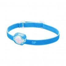 Čelovka GP CH31, LED, 2xCR2025, modrá