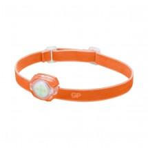 Čelovka GP CH31, LED, 2xCR2025, oranžová