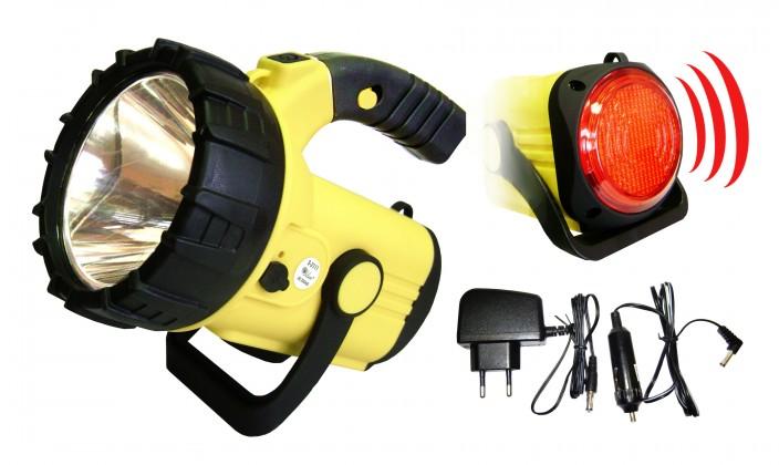 Čelovka Ručné svietidlo Pavexim S-2111, LED, žltá
