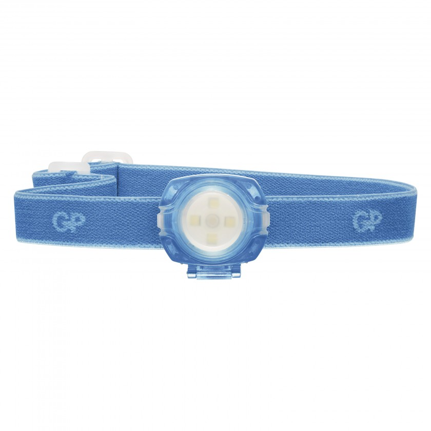 Čelovky Čelovka GP CH31, LED, 2x CR2025, modrá