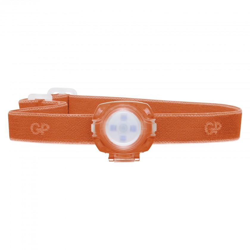 Čelovky Čelovka GP CH31, LED, 2x CR2025, oranžová