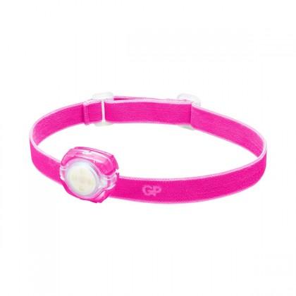 Čelovky Čelovka GP CH31, LED, 2x CR2025, ružová