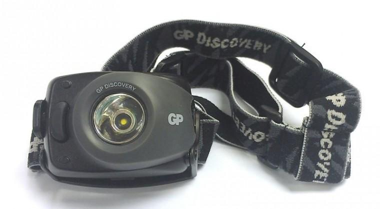 Čelovky LED čelovka GP LOE208 + 3 x AAA batérie GP Ultra