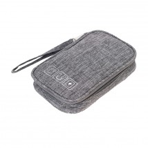 Cestovné puzdro na elektroniku a príslušenstvo WG2, šedá