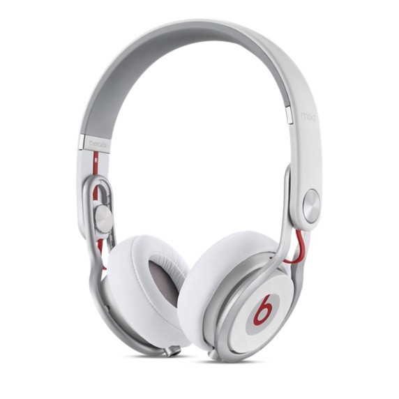 Cez hlavu Beats Mixr, biela - MH6N2ZM/A