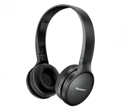 Cez hlavu Bezdrôtové slúchadlá cez hlavu Panasonic RP-HF410BE-K, čierna