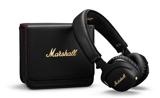 Cez hlavu Bezdrôtové slúchadlá Marshall Mid A.N.C. čierna