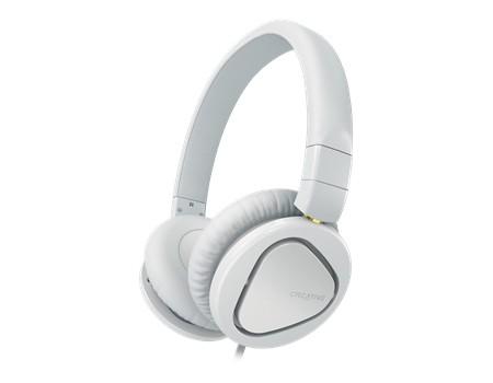 Cez hlavu Creative headset MA2600 - bílý