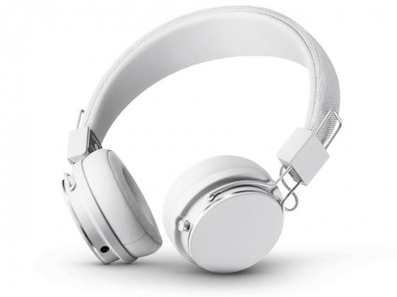 Cez hlavu Designová sluchátka Urbanears PLATTAN II,bílá, Bluetooth