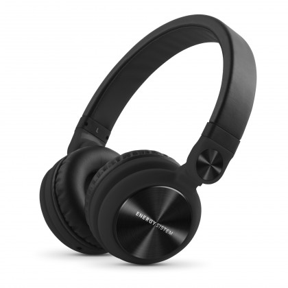 Cez hlavu ENERGY Headphones DJ2 Black Mic
