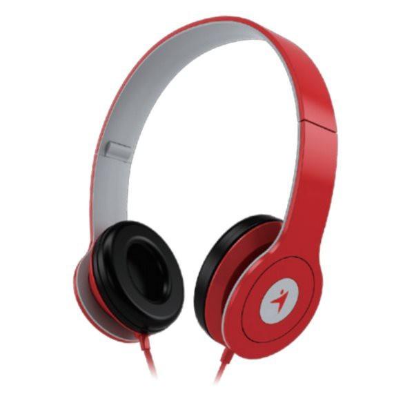 Cez hlavu GENIUS headset - HS-M450/ červené - 31710200102