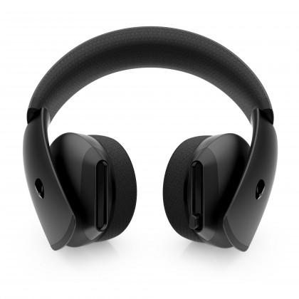 Cez hlavu Herný headset Dell Alienware AW310H, mikrofón, čierna