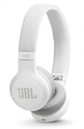 Cez hlavu JBL LIVE 400BT biela