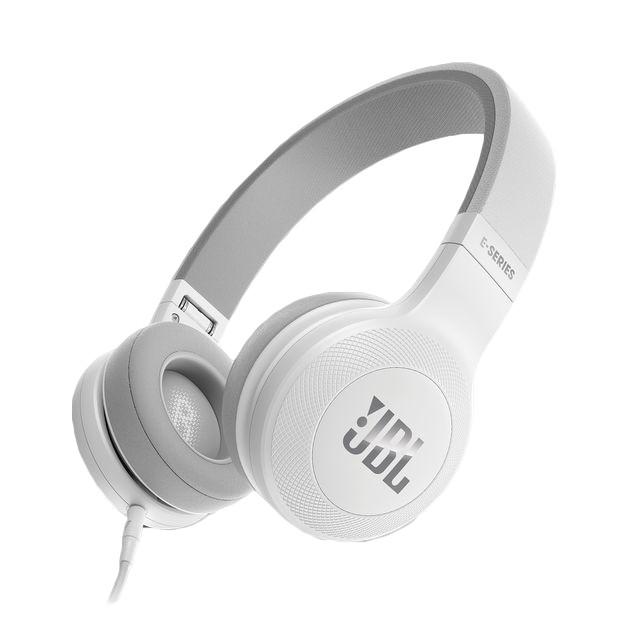 Cez hlavu JBL sluchátka E35 bílá JBL E35WHT