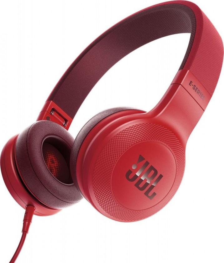 Cez hlavu JBL sluchátka E35 červená JBL E35RED