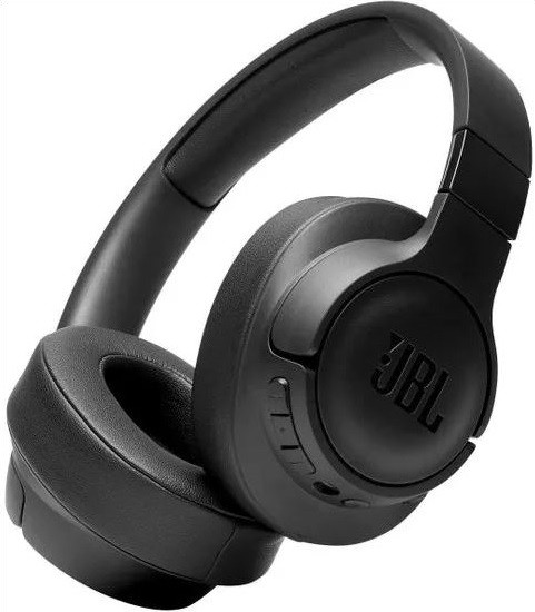 Cez hlavu JBL Tune 750BTNC, čierna