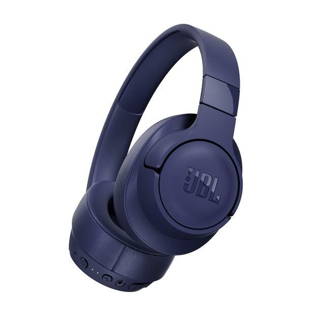 Cez hlavu JBL Tune 750BTNC, modrá