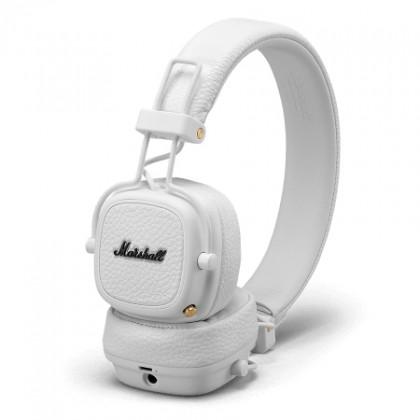 Cez hlavu Marshall Major III Bluetooth, white