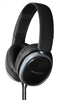 Cez hlavu  Monitorovací sluchátka Panasonic RP-HX250E-P