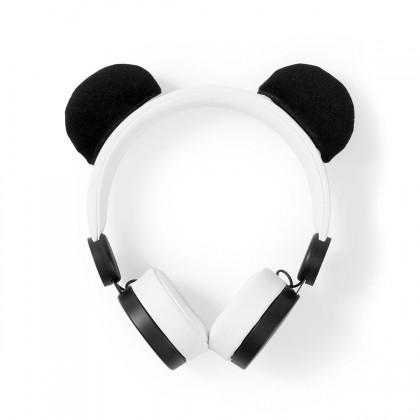 Cez hlavu NEDIS sluchátka pro děti Panda