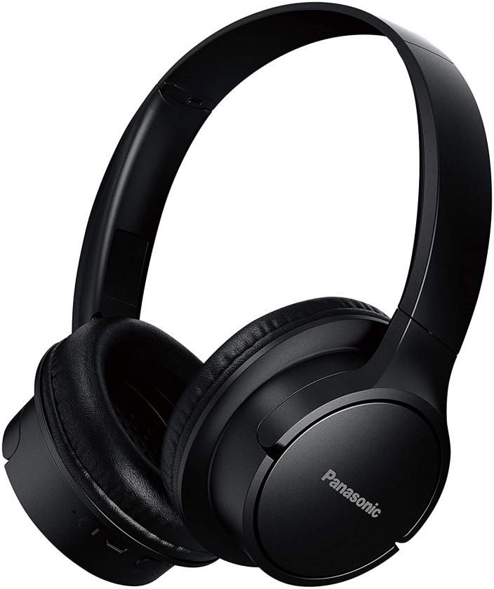 Cez hlavu Panasonic RB-HF520BE-K, čierna