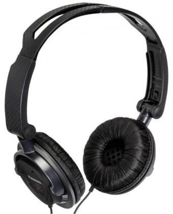 Cez hlavu Panasonic RP-DJS150E-K, čierne