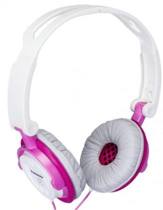 Cez hlavu Panasonic RP-DJS150E-P, ružové ROZBALENÉ