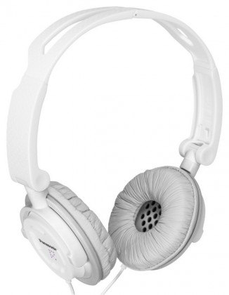 Cez hlavu Panasonic RP-DJS150E-W, biele