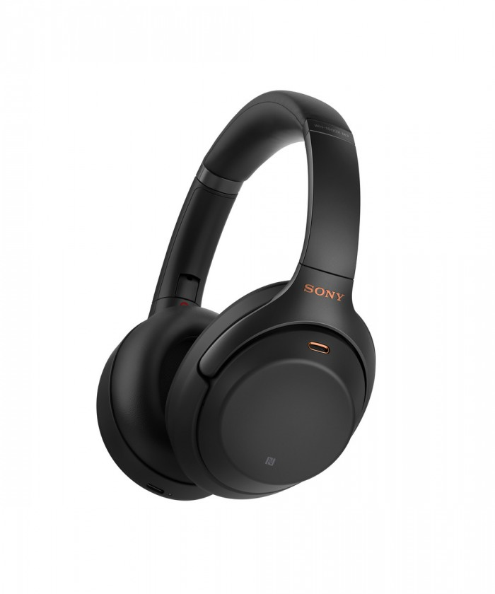 Cez hlavu Sllúchadlá Sony WH-1000XM3B - čierne