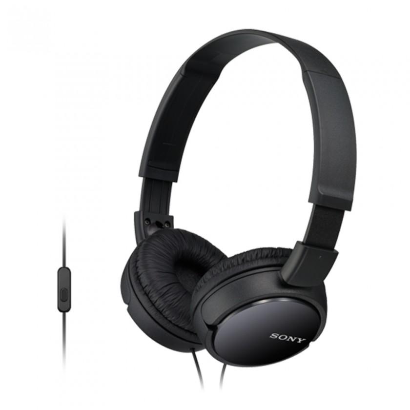 Cez hlavu Sony Slúchadlá MDR-ZX110AP čierna