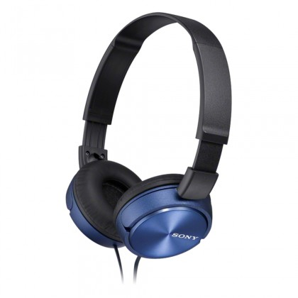 Cez hlavu Sony Slúchadlá MDRZX310AP modrá