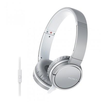Cez hlavu Sony Slúchadlá MDRZX660AP biela