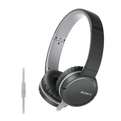 Cez hlavu Sony Slúchadlá MDRZX660AP čierna