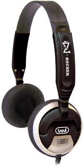 Cez hlavu  Trevi sluchátka DLX 678 černá