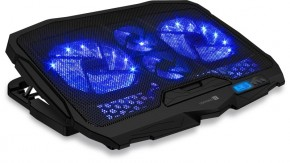 "Chladiaca podložka Connect IT FrostWind 15,6"" (CCP-2200-BK)"