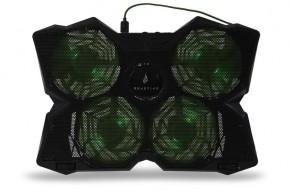 Chladiaca podložka pod notebook SureFire Bora Gaming, zelená