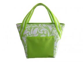 Chladiaca taška malá (zelená, biela)