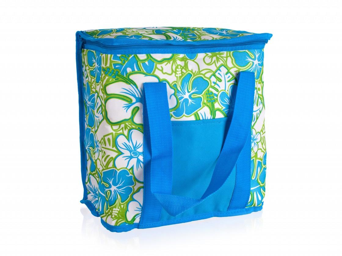 Chladiaca taška veľká (modrá, zelená)