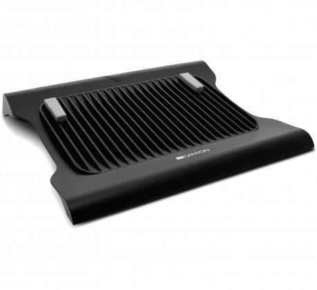 """Chladiace podložky CANYON Podstavec na notebook do 15.6 """"s 2 ventilátory"""
